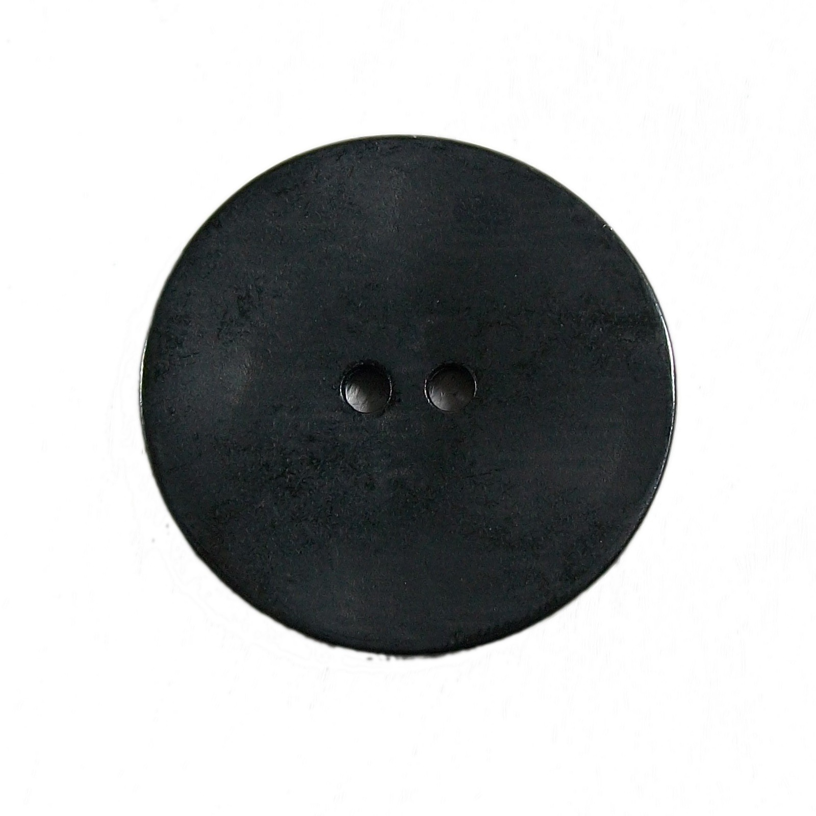 Metal Round Circle Buttons 18mm Black Pack of 1