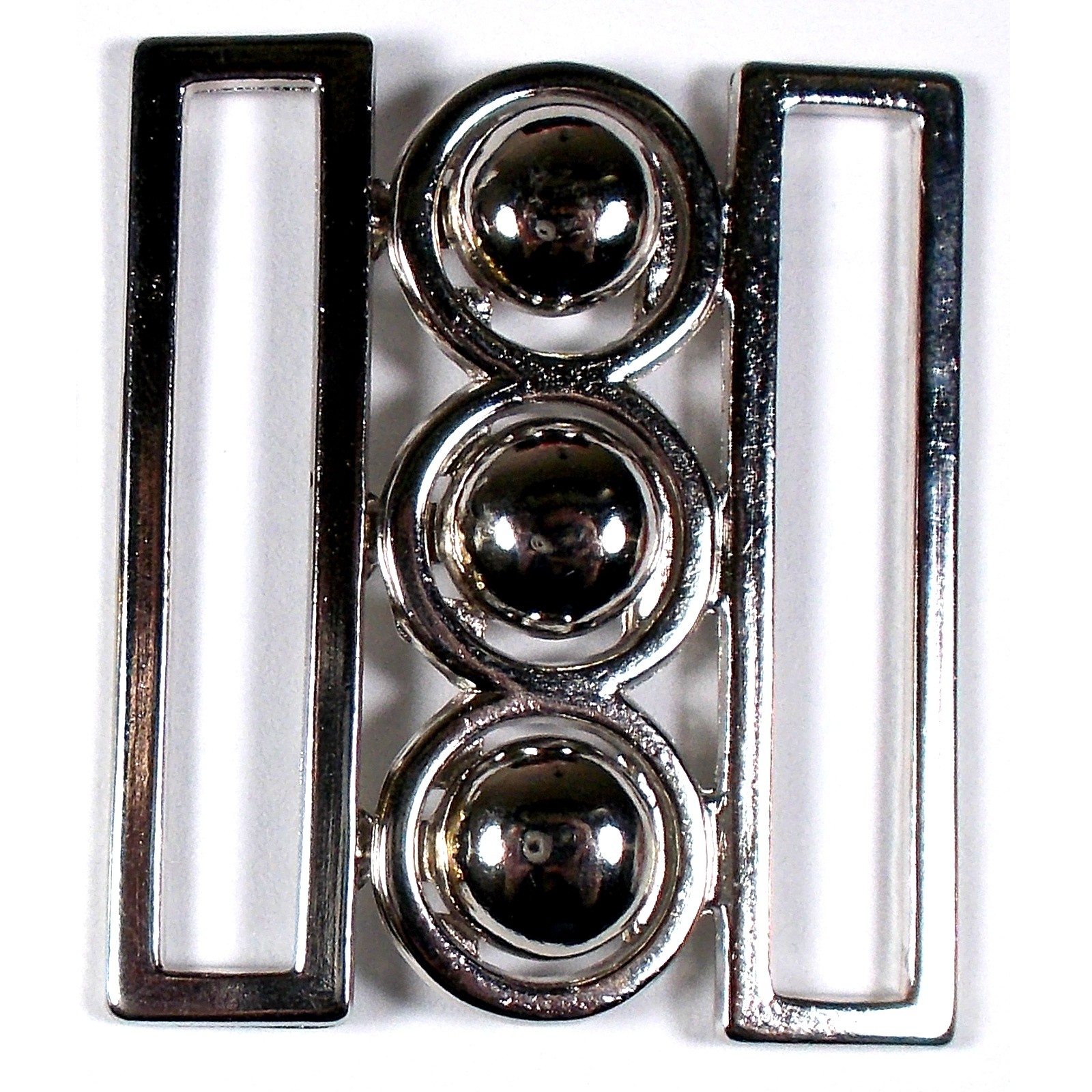 Nurses Waspie Buckle 42mm x 35mm Silver Pack of 1