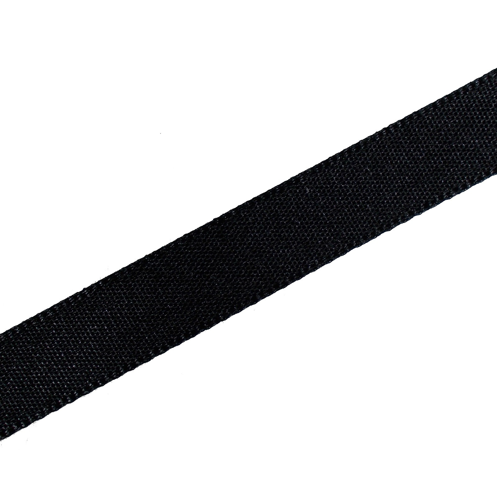 Berisfords Seam Binding Polyester Ribbon Tape 12mm wide Black 3 metre length