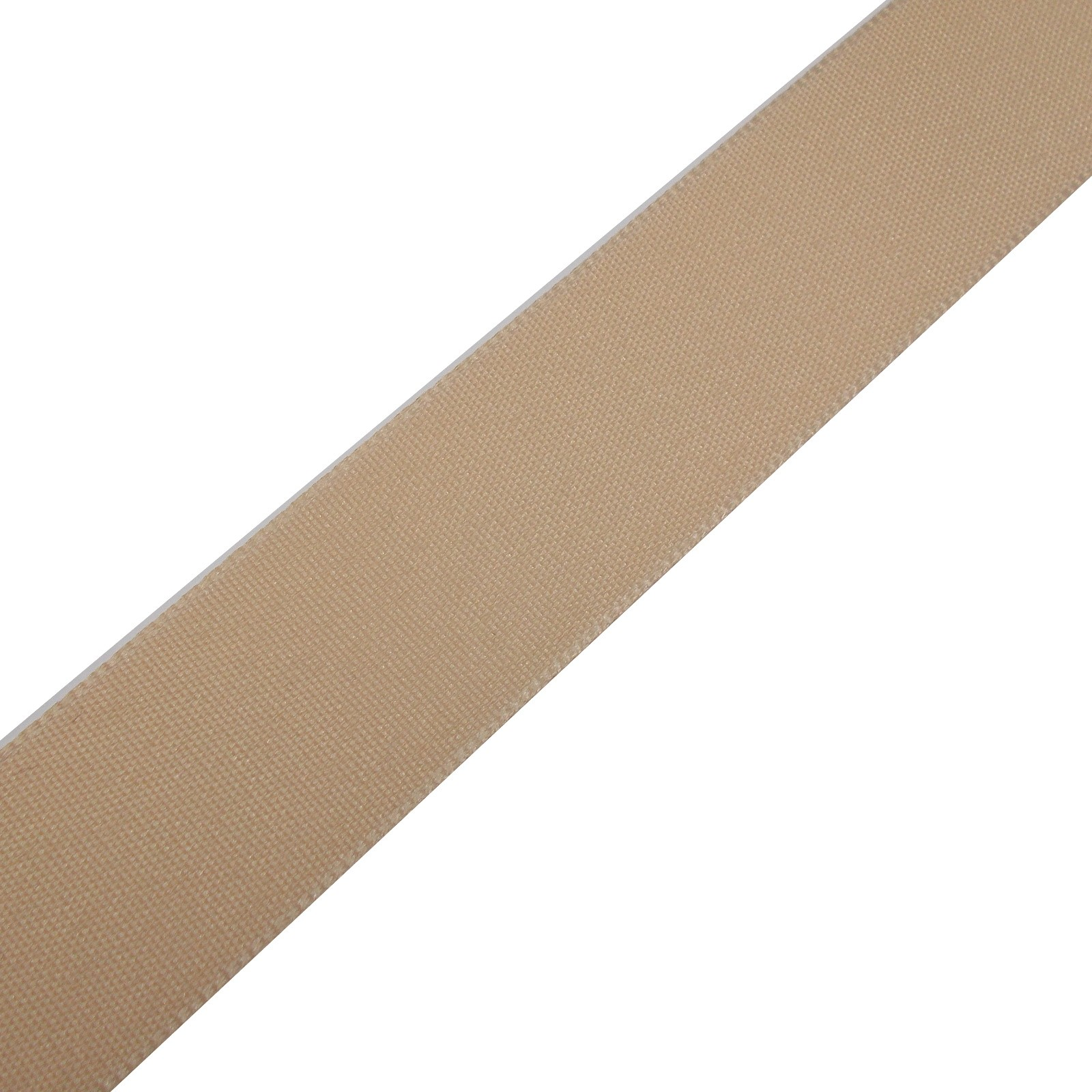 Berisfords Seam Binding Polyester Ribbon Tape 12mm wide Cream 2 metre length