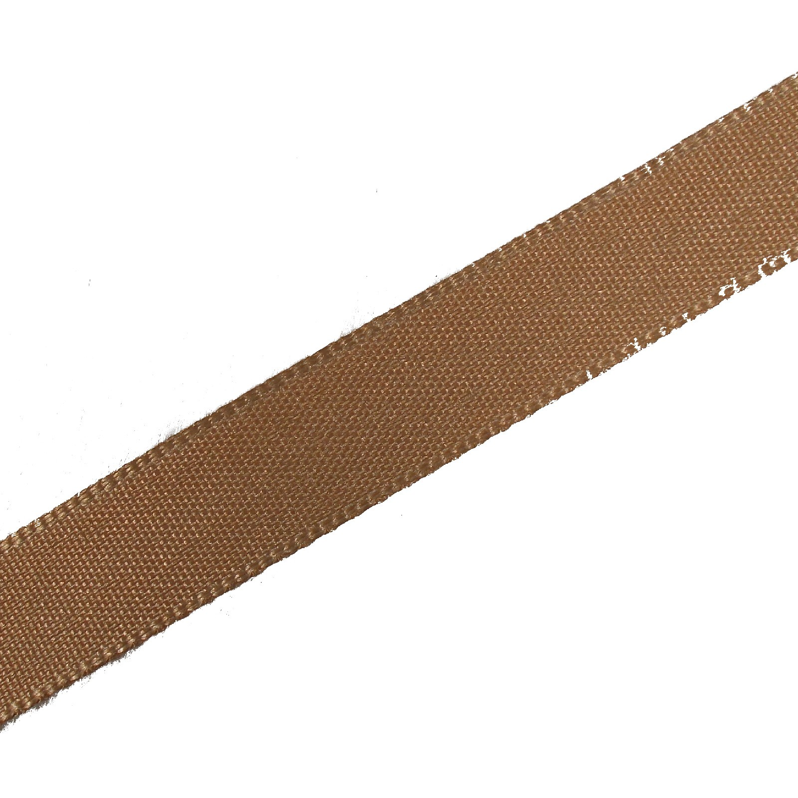 Berisfords Seam Binding Polyester Ribbon Tape 12mm wide Dark Beige 2 metre length