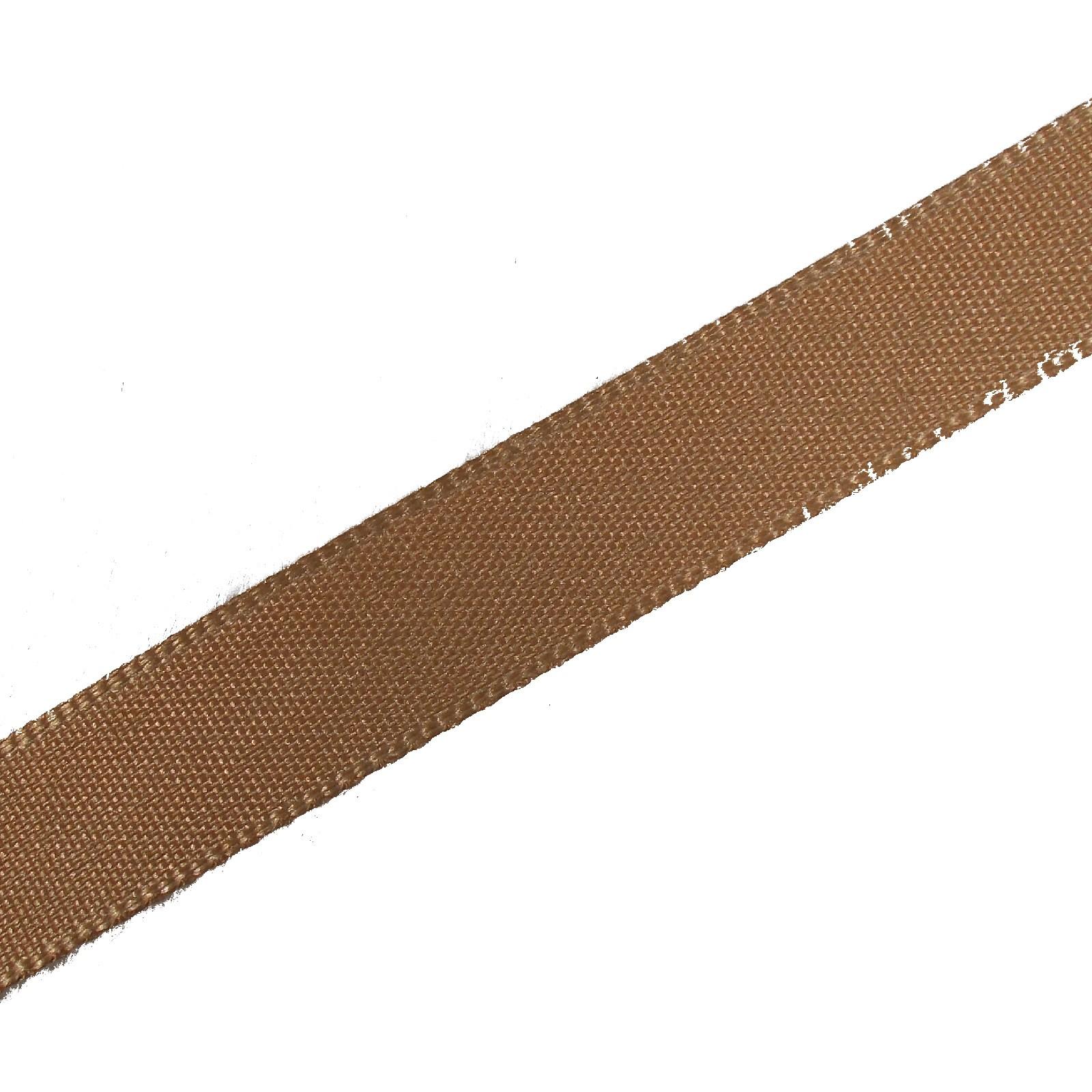 Berisfords Seam Binding Polyester Ribbon Tape 12mm wide Dark Beige 3 metre length