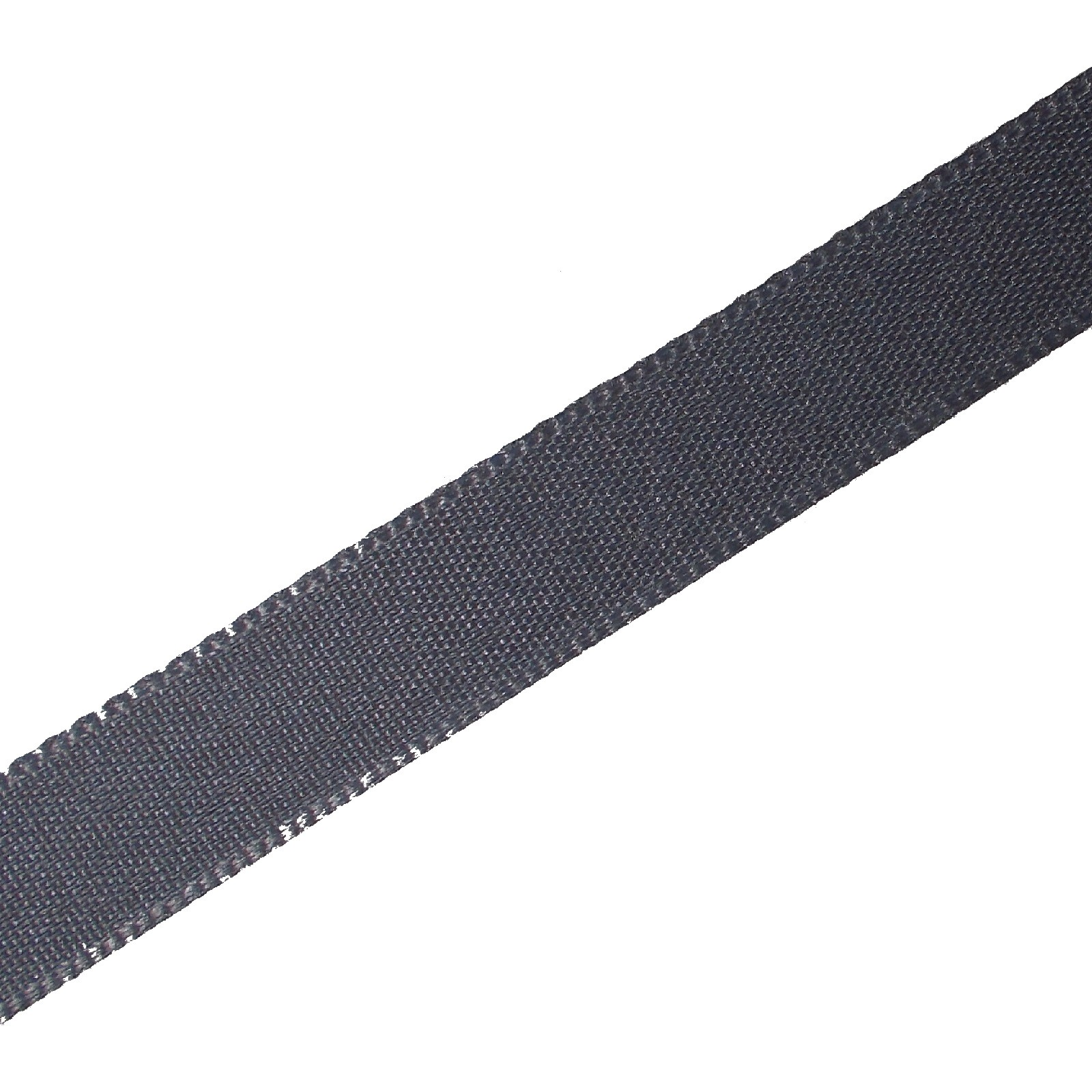 Berisfords Seam Binding Polyester Ribbon Tape 12mm wide Dark Grey 3 metre length
