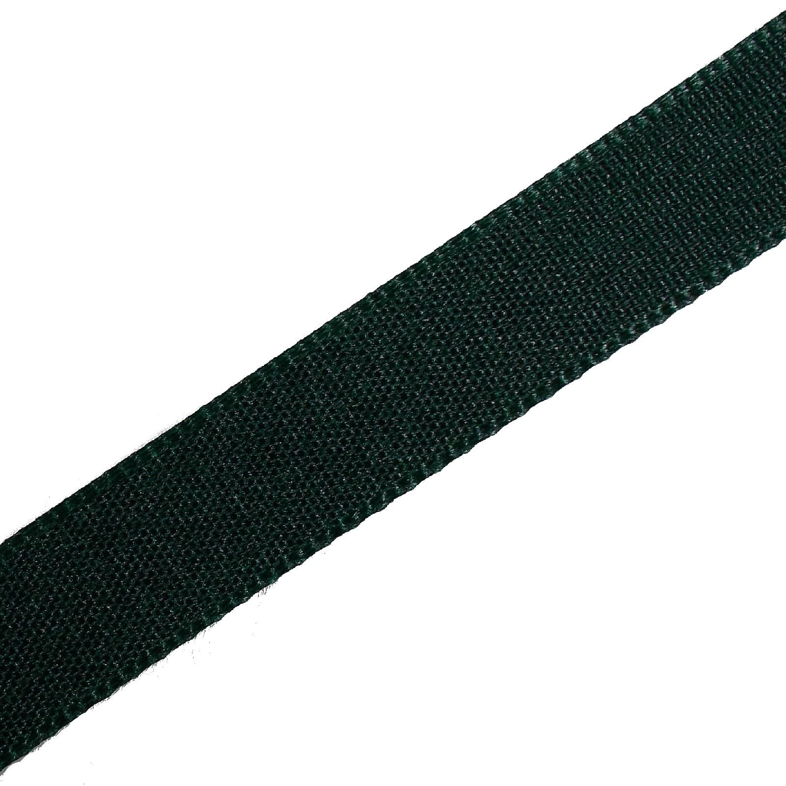 Berisfords Seam Binding Polyester Ribbon Tape 25mm wide Green 1 metre length
