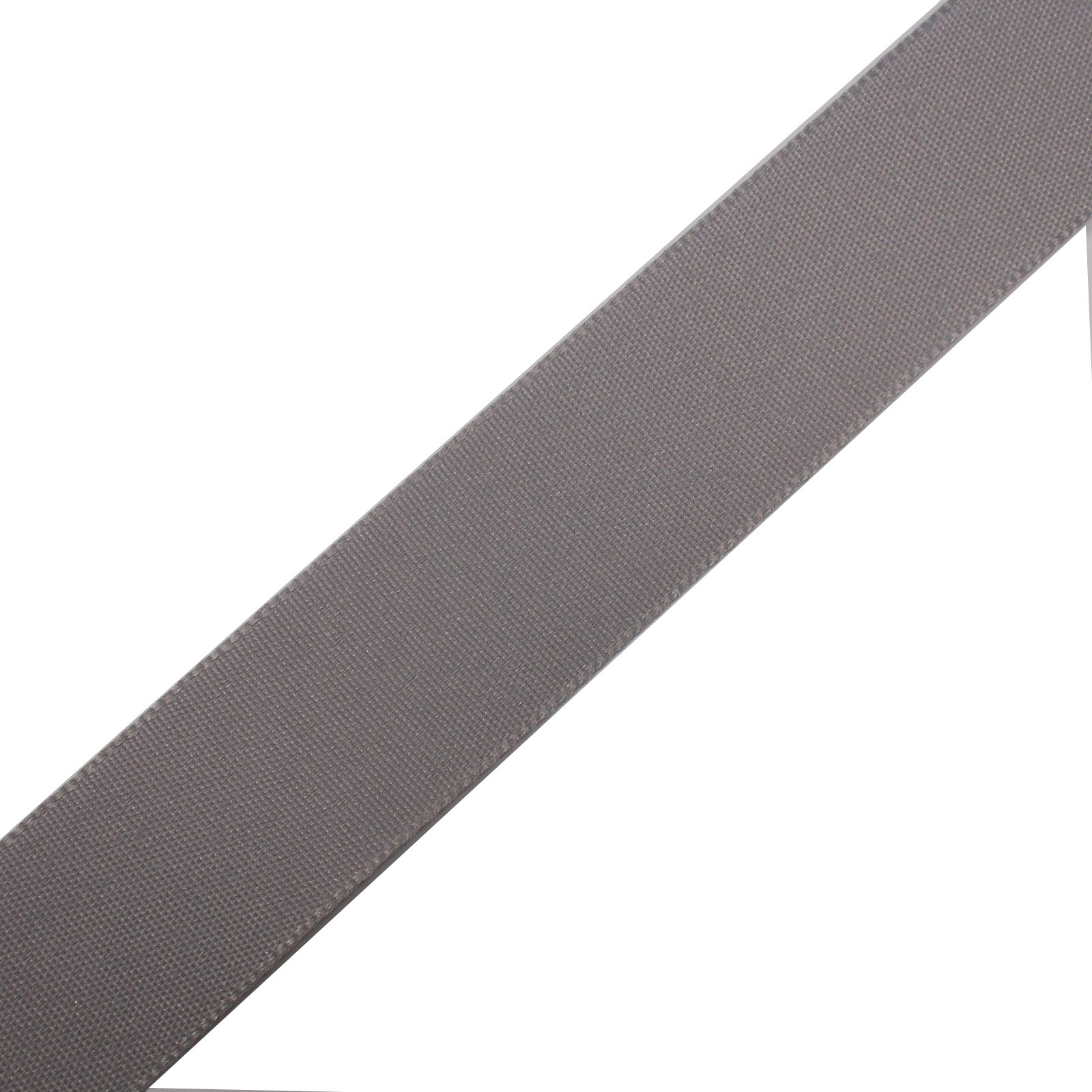 Berisfords Seam Binding Polyester Ribbon Tape 25mm wide Light Grey 1 metre length