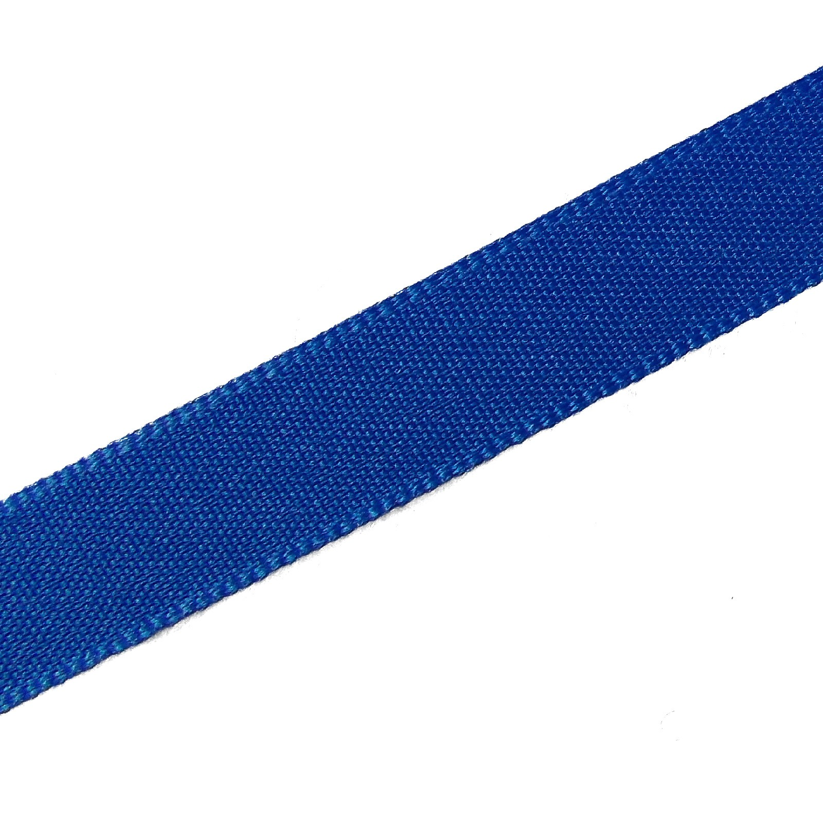Berisfords Seam Binding Polyester Ribbon Tape 25mm wide Royal Blue 1 metre length