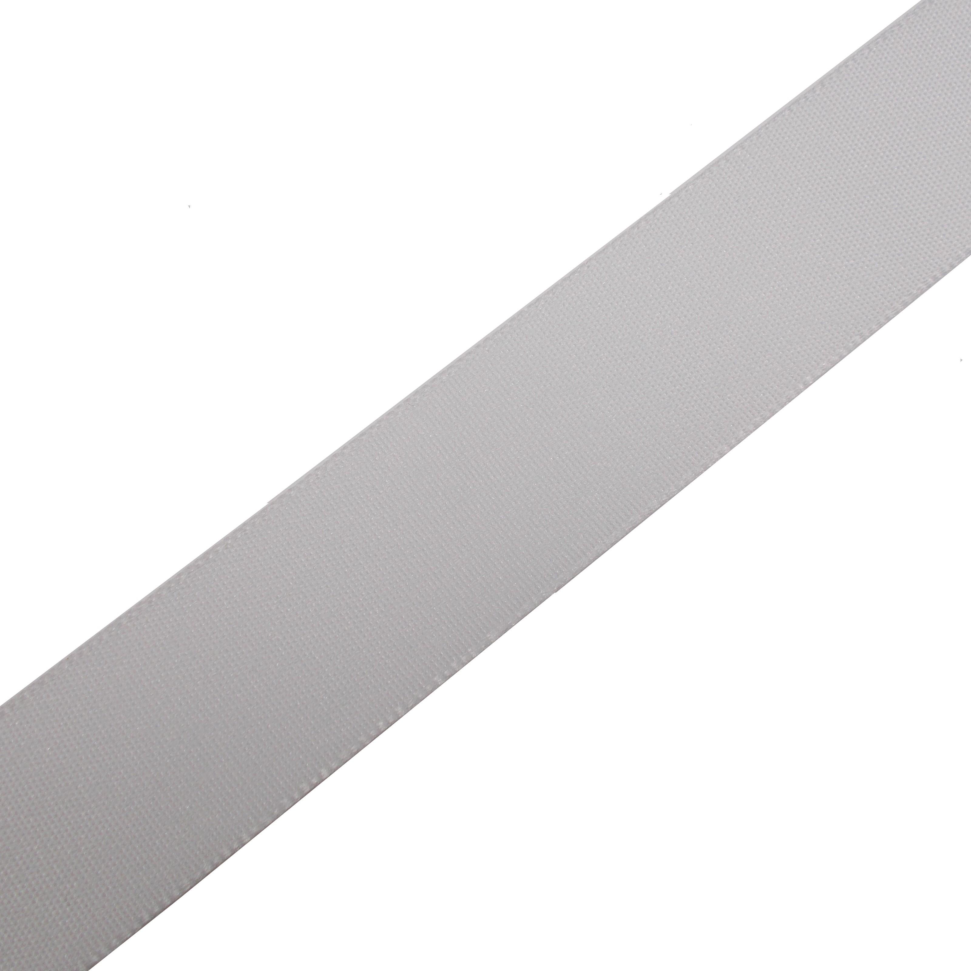 Berisfords Seam Binding Polyester Ribbon Tape 12mm wide White 2 metre length