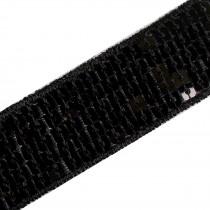 Square Sequin Trim 2.5cm wide Black 1 metre length