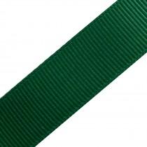 Grosgrain Plain Basic Ribbon 25mm wide Green 3 metre length