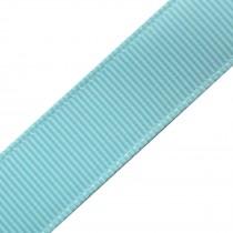 Grosgrain Plain Basic Ribbon 25mm wide Pale Blue 3 metre length