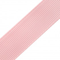 Grosgrain Plain Basic Ribbon 25mm wide Pale Pink 3 metre length