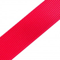 Grosgrain Plain Basic Ribbon 25mm wide Pink 3 metre length