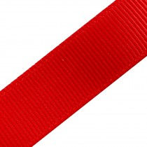 Grosgrain Plain Basic Ribbon 15mm wide Red 3 metre length
