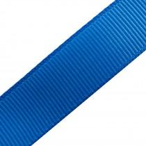 Grosgrain Plain Basic Ribbon 25mm wide Royal Blue 3 metre length