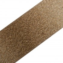 Berisfords Glitter Satin Ribbon 25mm wide Gold 1 metre length