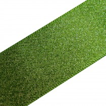 Berisfords Glitter Satin Ribbon 25mm wide Green 3 metre length