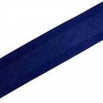 Bias Binding Plain 25mm wide Dark Blue 2 metre length