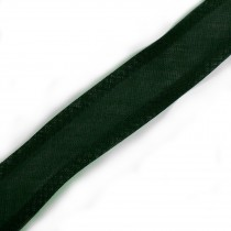 Bias Binding Plain 16mm wide Dark Green 1 metre length