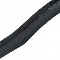 Bias Binding Plain 16mm wide Dark Grey 1 metre length