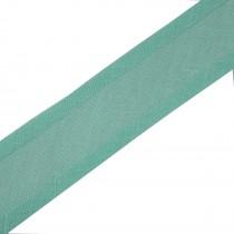 Bias Binding Plain 25mm wide Mint Green 1 metre length