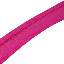 Bias Binding Plain 25mm wide Pink 1 metre length