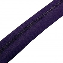 Bias Binding Plain 25mm wide Purple 1 metre length