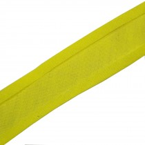 Bias Binding Plain 25mm wide Yellow 1 metre length