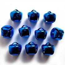 Cat Bells Sleigh Jingle Bells 12mm Blue Pack of 10