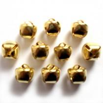 Cat Bells Sleigh Jingle Bells 12mm Gold Pack of 10