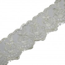 Colour Lace 45mm Wide Cream 2 metre length