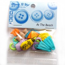 Dress it Up Buttons - At the Beach