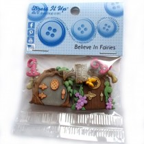 Dress it Up Buttons - Believe in Fairies