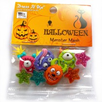 Dress it Up Buttons - Monster Mash
