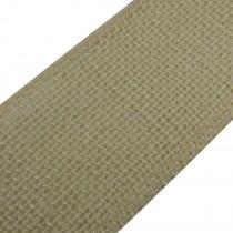 Rustic Hessian Wired Edge Ribbon 70mm wide Pale Beige 3 metre length