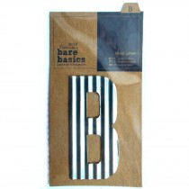 Docrafts Corrugated Metal Letters 8.8cm B