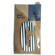 Docrafts Corrugated Metal Letters 8.8cm G