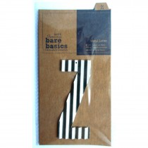 Docrafts Corrugated Metal Letters 8.8cm Z