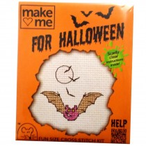 Mouseloft Mini Counted Cross Stitch Kits - Halloween Bat