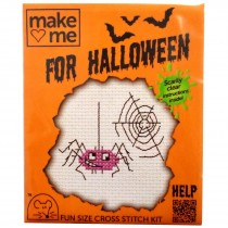 Mouseloft Mini Counted Cross Stitch Kits - Halloween Spider