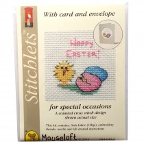 Mouseloft Mini Counted Cross Stitch Kits - Easter Card Chick