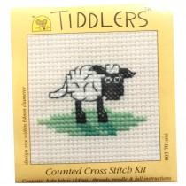Mouseloft Mini Counted Cross Stitch Kits - Tiddlers Sheep