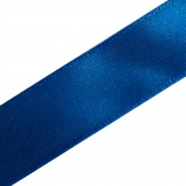 Berisfords Newlife Recycled Satin Ribbon 25mm wide Royal Blue 3 metre length
