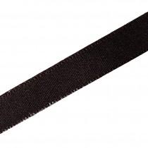 Berisfords Seam Binding Polyester Ribbon Tape 25mm wide Brown 2 metre length