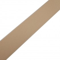 Berisfords Seam Binding Polyester Ribbon Tape 25mm wide Cream 2 metre length