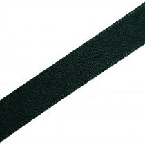 Berisfords Seam Binding Polyester Ribbon Tape 25mm wide Green 2 metre length