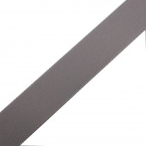 Berisfords Seam Binding Polyester Ribbon Tape 25mm wide Light Grey 3 metre length