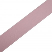 Berisfords Seam Binding Polyester Ribbon Tape 25mm wide Pale Pink 1 metre length