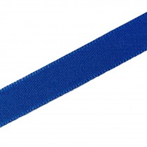 Berisfords Seam Binding Polyester Ribbon Tape 12mm wide Royal Blue 1 metre length