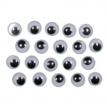 Self Adhesive Stick On Googly Eyes 7mm Pack of 20