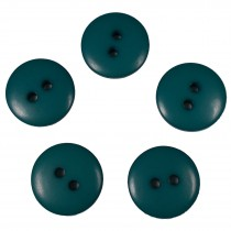 Smartie Buttons Polyester 22mm Blue Green Pack of 5